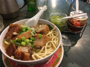 Roast duck noodle soup, #dcchinatown #chinatown #lowdownonchinatown #hstreet #duck